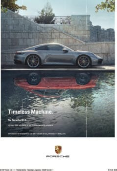20-1047 Porsche - Adv - 1-1 - Timeless Machine - Tulpenrallye - programma - 210x297 mm - Certified