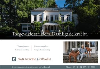 Advertentie A5 - Van Hoven & Oomen Rentmeesters