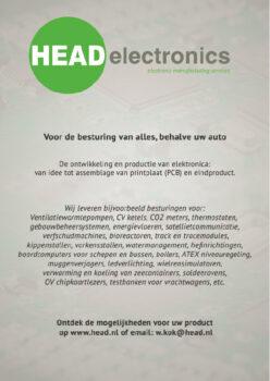 adv HEAD-Advertentie A4 Head Electronics
